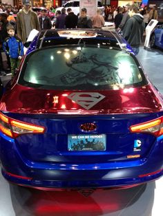 Superhero-Themed Cars - DC Comics and Kia Team Up to Create a Different Type of Super Car (GALLERY)