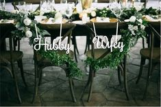 "Wood Wedding Reception Chair Signs Set Wedding Signs-Please Send your phone number in the ""NOTE to the seller"" Wedding Reception Chairs, Wedding Chair Signs, Wedding Table Numbers, Wedding Receptions, Wedding Place Names, Wedding Guest List, Wedding Places, Wedding Ideas, You Are My Home"