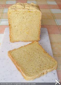 Maisbrot für den Brotbackautomaten