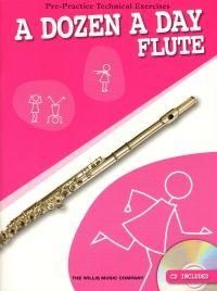 A Dozen A Day Flute - Book & CD. £9.95