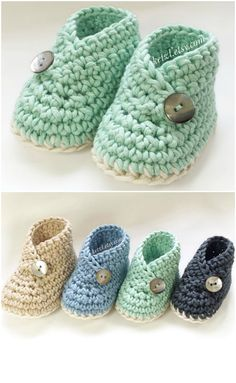 Crochet Kimono Baby Shoes Pattern - WHOot Best Crochet and Knitting Patterns . - Crochet Kimono Baby Shoes Pattern – WHOot Best Crochet and Knitting Patterns - Crochet Baby Boots, Booties Crochet, Crochet Baby Clothes, Crochet Shoes, Crochet Slippers, Newborn Crochet, Baby Slippers, Knitted Baby, Crochet Baby Bootie Pattern