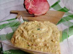 Húsvét vége recept – Tormás-sonkás tojáskrém   HahoPihe Hummus, Bread, Ethnic Recipes, Food, Brot, Essen, Baking, Meals, Breads