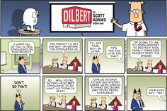 The 10 Funniest Dilbert Comic Strips About Idiot Bosses | Business Insider