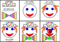 CIRQUE - la classe de Hello Cathy Playing Cards, Games, Cycle 1, Diy, School, Montessori, Clowns, Carnival Games