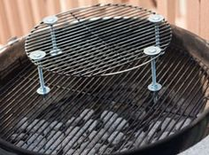 a third grate for a weber smokey mountain smoker