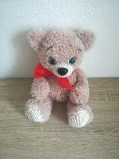 Diy And Crafts, Teddy Bear, Toys, Animals, Amigurumi, Activity Toys, Animales, Animaux, Clearance Toys