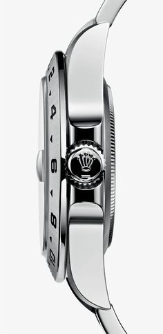 The Rolex Explorer II is built for adventure: its robust and waterproof case in highly corrosion-resistant Oystersteel features an integral crownguard that protects the Twinlock screw-down winding crown from knocks during expeditions. Rolex Explorer Ii, Vintage Watches For Men, Vintage Rolex, Sport Watches, Cool Watches, Luxury Watches, Rolex Watches, Rolex Wrist Watch, Rolex Air King