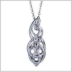 Celtic Family Knot Pendant : Family of Four
