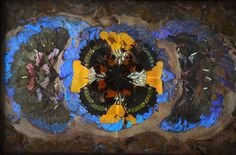 UNKNOWN, BUTTERFLY WING TRAY: from the erie basin blog. #butterfly #erie_basin