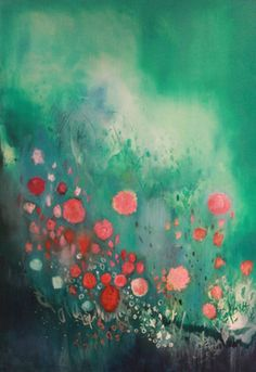 Saatchi Online Artist Georgina Vinsun; Painting, Evelyn - SOLD #art