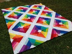 Kite Flight Quilt Top | better off thread…