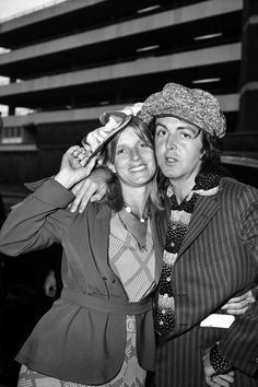 paul and linda mccartney | Tumblr