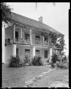 Live Oak Plantation, Weyanoke, W. Feliciana Parish, Louisiana