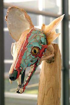 Jimmie Durham. © Marco Sweering, Museum De Paviljoens