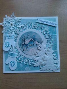 6002/0303 Noor! Design Cutting & Embossing stencil cirkel door Agnes van Dijk