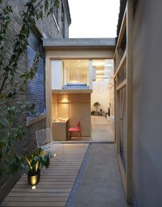 Completed in 2016 in Dongcheng Qu, China. Images by Ruijing Photo. Located in a hutong near the historical centre in Beijing, the L-shaped house is sandwiched between the old hutong wall and a two floor building. The...