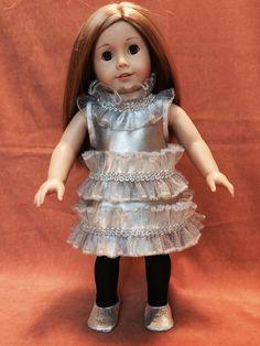 Luna Lovegood Silver Christmas Party Dress by DressMeMagic on Etsy