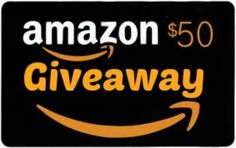 Win a $50 Amazon GiftCard - -->