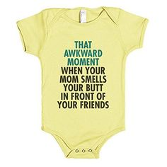 That Awkward Moment   12-18M Lemon Baby One Piece   Funny Onesies. Babies are high maintenance, let's face it. A little humor makes issues more uncomplicated! Begin embarrassing your child today with this cheeky one-piece! Lemon Baby One Piece 12-18M Product Features Each and Every Item Can pay a Dressmaker Created by way of Unbiased Designers Across the... http://geek-tshirts.com/that-awkward-moment-12-18m-lemon-baby-one-piece-funny-onesies/