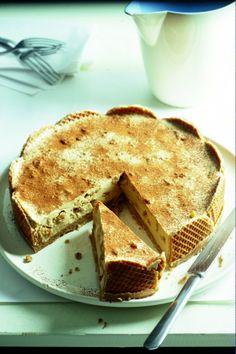 Yoghurt-tiramisu stroopwafel taart
