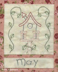 Ellie's Quiltplace: Country Calendar BOM