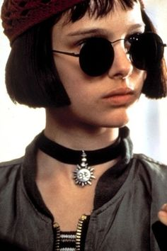 "Mathilda played by Natalie Portman in ""Leon: The Professional"" (1994)."