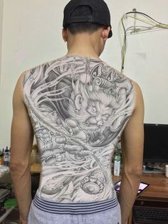Samurai Tattoo, Lunges, Carving, Japanese Style, Monkey, Design, Tatoo, Japan Style, Jumpsuit