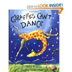 Gerald the giraffe wants to dance just like the rest of his friends but he can't move his feet to their music. Will he ever be able to get into the groove? A friendly cricket may just show Gerald that sometimes you need your own special music to get moving on the dance floor.