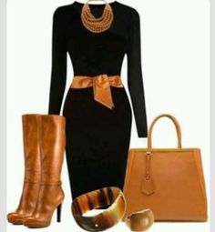 black and tan Work Fashion, Unique Fashion, Fashion Looks, Office Fashion, European Fashion, Street Look, Street Wear, Chic Outfits, Fashion Outfits