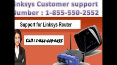 Linksys Router Technical 1-844-449-0455 Support Phone Number