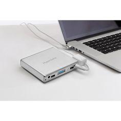 HyperJuice 1.5 External Battery for MacBook/iPad/USB (60Wh) + Magic Box Modified MagSafe Adapter