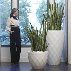 Vondom Modern Vases 65 Resin Planter