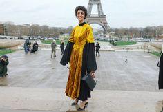Yasmin Sewell in a Roksanda Ilincic dress