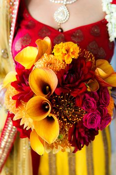 indian wedding flowers