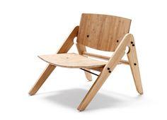 Bamboo children chair - Designer children's furniture by We: Do: Wood Design Shop, Deco Design, House Design, Kids Furniture, Furniture Design, Outdoor Furniture, Lounge Furniture, Wooden Furniture, Chair Design