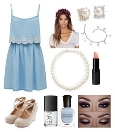 Dressy by emily713 on Polyvore featuring polyvore, fashion, style, Forever New, Giovane, Blue Nile, Eugenia Kim, Deborah Lippmann and NARS Cosmetics