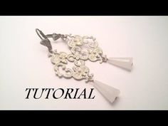 TUTORIAL orecchini con filigrana | DIY Filigree earrings - YouTube