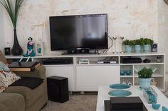 Antes e Depois -Pequenas mudanças na minha sala - Reciclar e Decorar - Blog de Decoração, Reciclagem e Artesanato