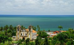 """Olinda is a historic city in the Brazilian state of Pernambuco, located on the country's northeastern Atlantic coast just north of Recife."""