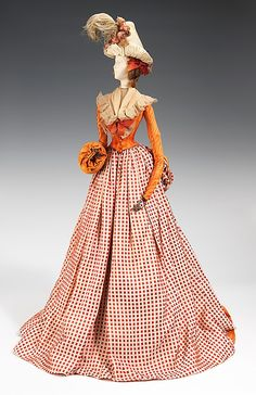 "The Metropolitan Museum of Art - ""1791 Doll"", Martial & Armand, 1949, French. This was a fashion doll given by France to America in thanks for American donations of relief packages after the end of WW2."