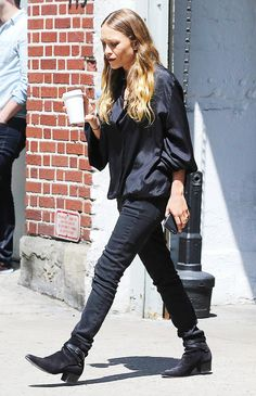 The 5 Most Recent Olsen Twin Sightings in New York City via @WhoWhatWear