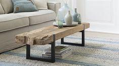 Salontafel Magnum 140 cm AMN 172628 - Lilly is Love Modern Farmhouse Design, Wooden Chest, Metal Furniture, Home Interior Design, Sweet Home, Indoor, Living Room, Vestibule, Barbacoa