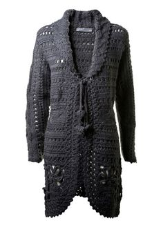 crochet cardigan/coat