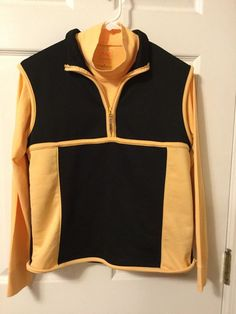 Asworth Weather System Golf Mock Turtle neck orange shirt With Vest size medium #Ashworth #MockTurtleneck