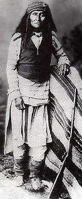 Mangus (the son of Mangus Coloradas) - Chiricahua Apache - no date