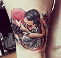 Tattoos 3d, Zodiac Tattoos, Dope Tattoos, Badass Tattoos, Girl Tattoos, Sleeve Tattoos, Tattoos For Women, Tattoos For Guys, Bonnie And Clyde Tattoo