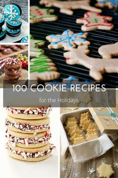 100 Must Bake Cookie Recipes for the Holidays