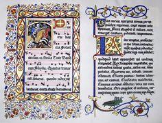 miniature lettere alfabeto medievali - Cerca con Google