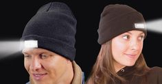 Give the gift that shines out from the rest! Save 73% Off Today! This fun and cool Led Winter Cap will keep you warm and light up your way in the winter.