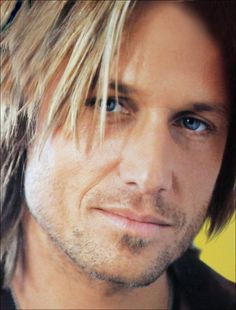 Keith Urban, country & western singer